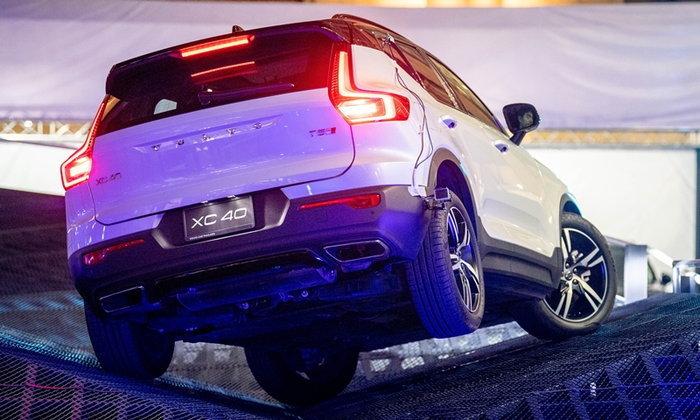 """วอลโว่ชวนขับ """"The Volvo Way: Freedom to Experience"""" บนลู่วิ่ง 2 ระดับใจกลางกรุงเทพฯ"""