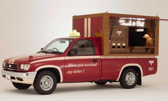 เมื่อ Toyota Hilux Tiger กลายเป็นตู้ไปรษณีย์เคลื่อนที่