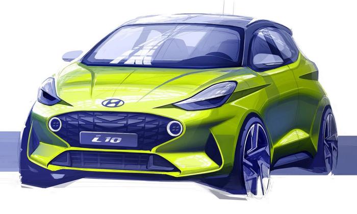 Hyundai i10 กับภาพสเก็ตช์ที่ทำให้ทุกคนร้องว้าว