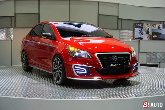 'Suzuki Ciaz Custom' เวอร์ชั่นแต่งสุดล้ำเผยโฉมที่งาน Auto Salon 2015
