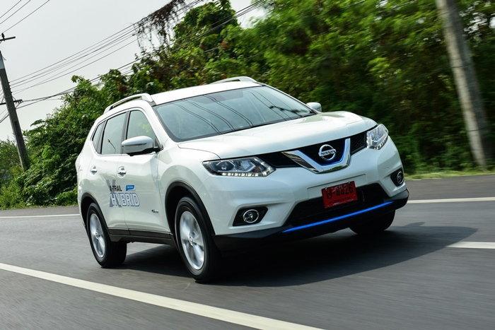 รีวิว Nissan X-Trail Hybrid เอสยูวีไฮบริดคุ้มค่าโดนใจ