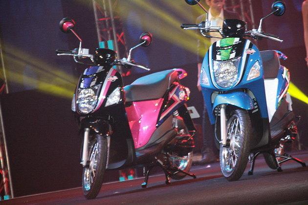 Suzuki Let's  Trendy bike  น้องใหม่ สวยใสในสไตล์ อีโค่