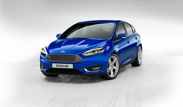 Ford Focus 2014 ใหม่ โฉมไมเนอร์เชนจ์มาแล้ว