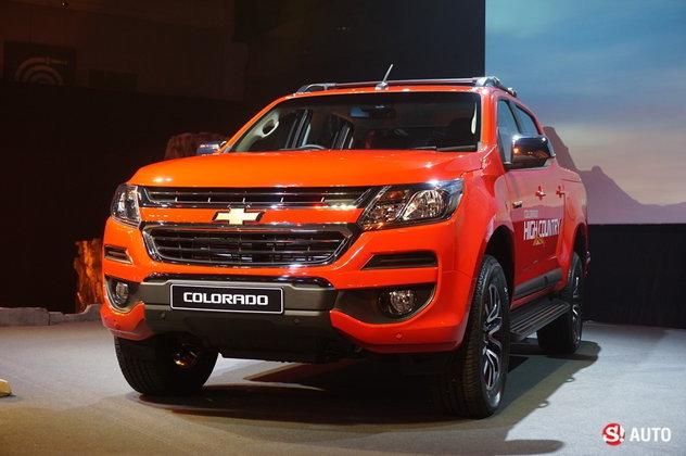 2017 Chevrolet Colorado ไมเนอร์เชนจ์ใหม่ เปิดตัวในไทยอย่างเป็นทางการแล้ว