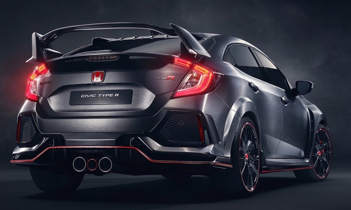 2017 -  2018 Honda Civic Type R ใหม่ ฟันธงได้เกียร์ CVT ไร้แววคลัทช์คู่