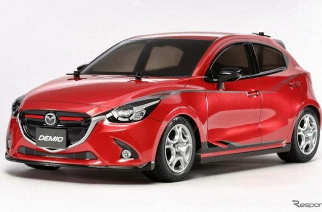 มาแล้วรถบังคับวิทยุ 1/10 Mazda DEMIO จากทาง TAMIYA
