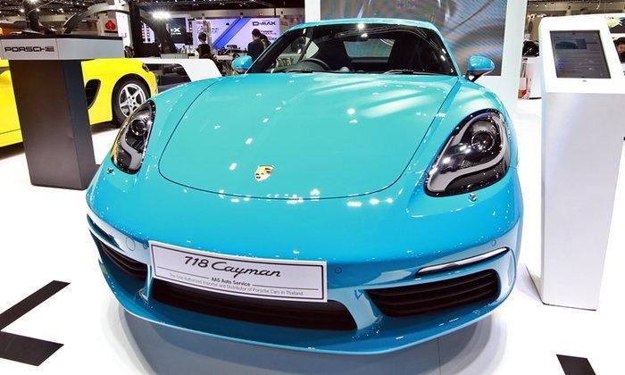 รถใหม่ Porsche ในงาน Motor Expo 2016