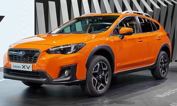 Subaru XV 2017 ใหม่ เผยโฉมครั้งแรกในโลกที่เจนีวา
