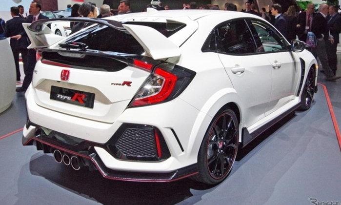 Honda CIVIC Type R ใหม่ รุ่นวางจำหน่าย 320 แรงม้า เปิดตัวในงานเจนิวามอเตอร์โชว์ 2017