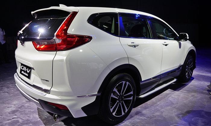 Honda CR-V phiên bản 7 chỗ sẽ sở hữu mức giá bao nhiêu nếu không bị tính thuế?