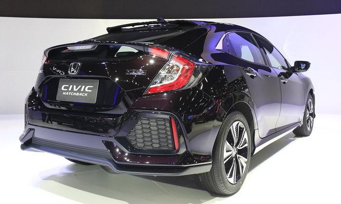 รถใหม่ Honda - Motorshow 2017