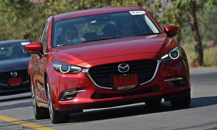 รีวิว Mazda 3 2017 ไมเนอร์เชนจ์ใหม่ มีดีที่ G-Vectoring Control