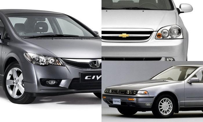 Chevrolet – Honda – Nissan – Toyota ติดอันดับรถยนต์ 1,500 ซีซีขึ้นไปที่ถูกค้นหามากที่สุดใน Kaidee