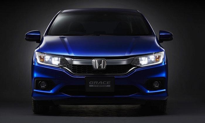 ทีเซอร์ Honda Grace 2017 ใหม่ พร้อมขุมพลังไฮบริด