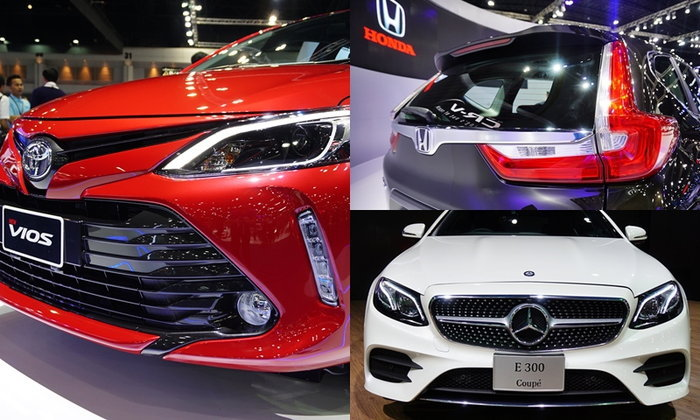 10 อันดับยอดขายรถยนต์-มอเตอร์ไซค์ในงานมอเตอร์โชว์ 2017