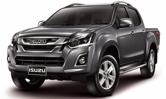 ราคารถใหม่ Isuzu ในตลาดรถประจำเดือนเมษายน 2560