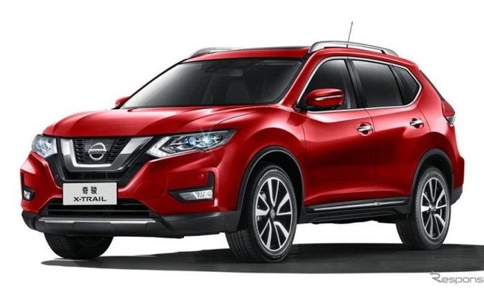 Nissan เปิดตัว X-Trail รุ่นปรับโฉมใหม่ในงานเซี่ยงไฮ้มอเตอร์โชว์ 2017