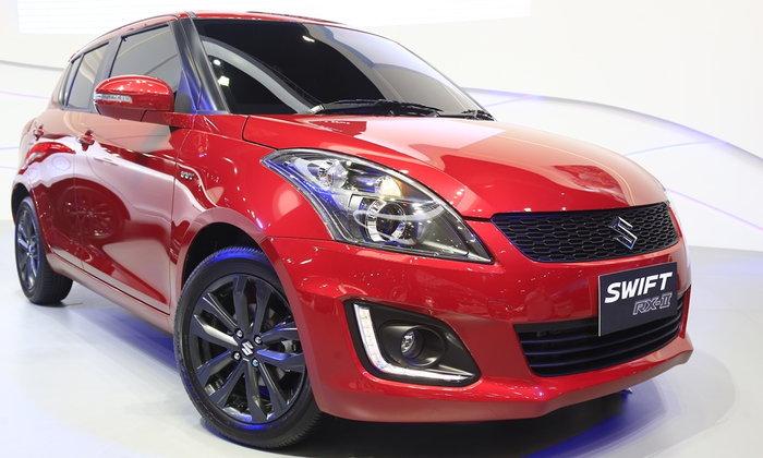 ราคารถใหม่ Suzuki ในตลาดรถยนต์ประจำเดือนพฤษภาคม 2560