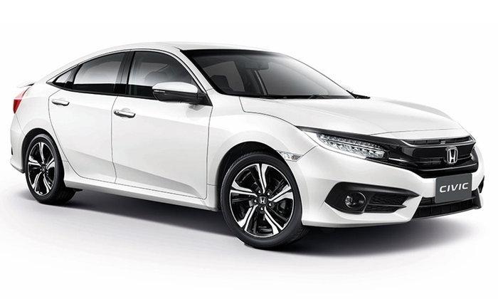 ราคารถใหม่ Honda ในตลาดรถยนต์ประจำเดือนสิงหาคม 2560