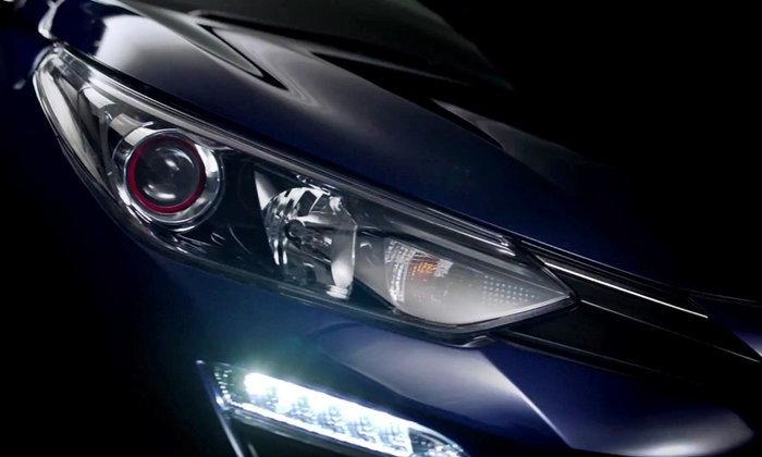 Toyota Yaris ATIV 2017 ปล่อยทีเซอร์แรกอย่างเป็นทางการแล้ว