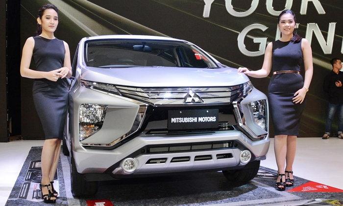 รูปจริง Mitsubishi Xpander 2017 ใหม่ ส่งตรงจากอินโดนีเซีย