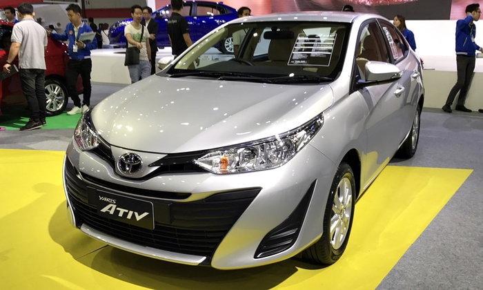 Toyota Yaris ATIV 2017 ใหม่ อวดโฉมที่งาน Big Motor Sale ไบเทคบางนา