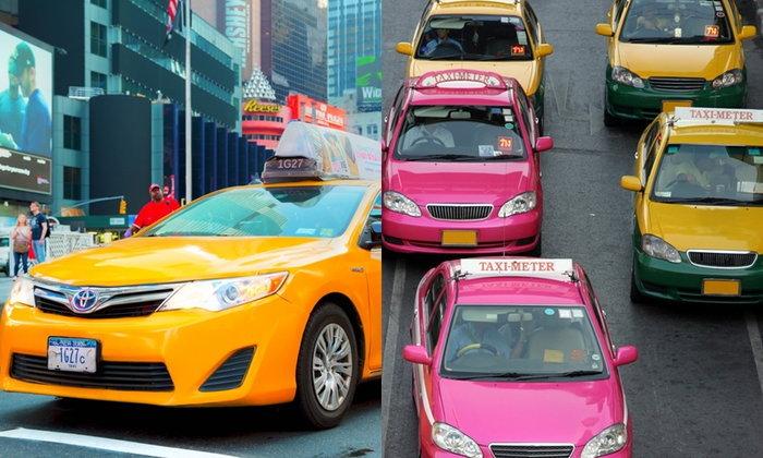 """สำรวจคุณสมบัติ """"คนขับแท็กซี่"""" มหานครดังระดับโลก"""