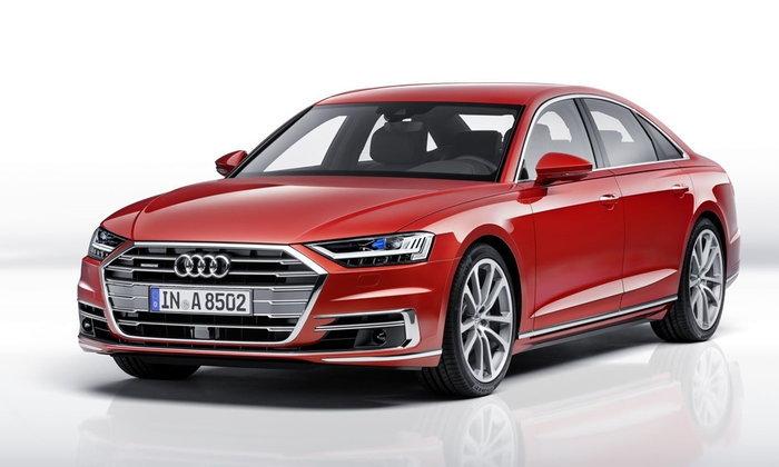 All-new Audi A8 2017 เจเนอเรชั่นใหม่ถูกเปิดตัวอย่างเป็นทางการแล้ว
