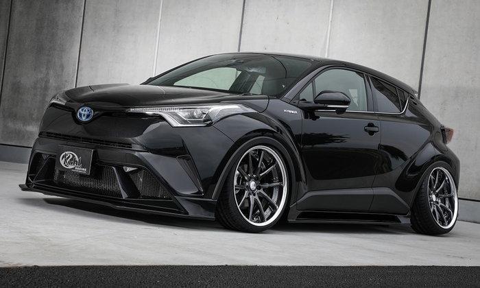 Toyota C-HR พร้อมชุดแต่ง Kuhl Racing เผยโฉมที่ญี่ปุ่น