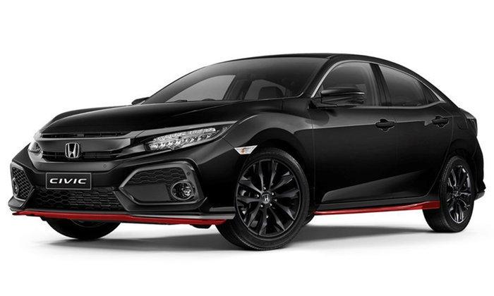 Honda Civic Red Edition 2018 ใหม่ วางจำหน่ายที่ออสเตรเลีย