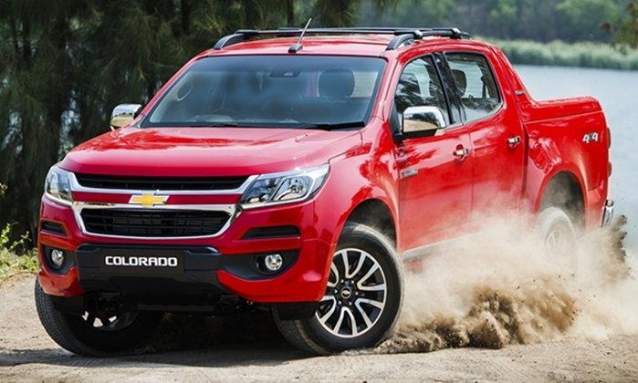 ราคารถใหม่ Chevrolet ในตลาดรถประจำเดือนตุลาคม 2560