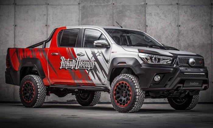 เผยโฉม Toyota Hilux 2017 ใหม่ พร้อมชุดแต่งจาก Carlex