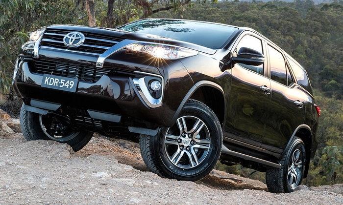 Toyota Fortuner 2018 ใหม่ หั่นราคา 1.4 แสนบาทที่ออสเตรเลีย