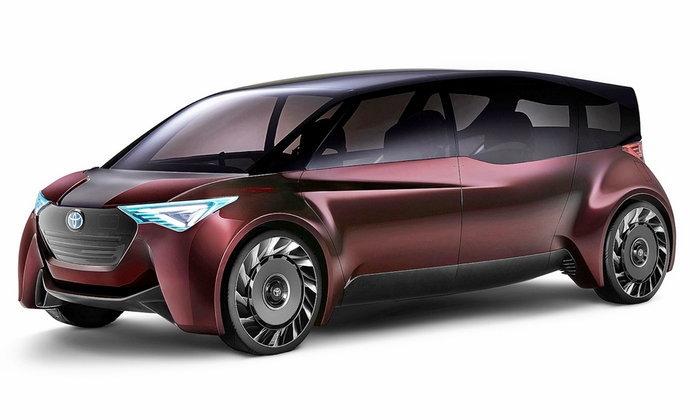 Toyota Fine-Comfort Ride 2017 รถต้นแบบมินิแวนขุมพลังฟิวเซล