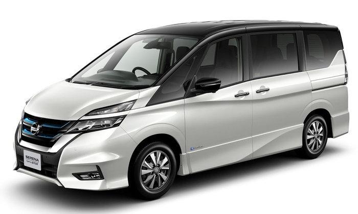 Nissan Serena e-Power 2018 ขุมพลังไฮบริดเตรียมเปิดตัวที่โตเกียวมอเตอร์โชว์