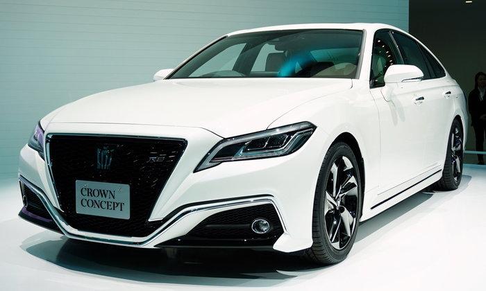 Toyota Crown Concept ใหม่ พร้อมเทคโนโลยีเชื่อมต่อสุดล้ำที่งานโตเกียวมอเตอร์โชว์ 2017