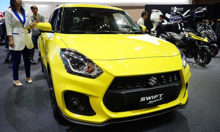Suzuki Swift 2018 ใหม่ ลุ้นเข้าไทยด้วยขุมพลัง Dualjet 1.2 ลิตร