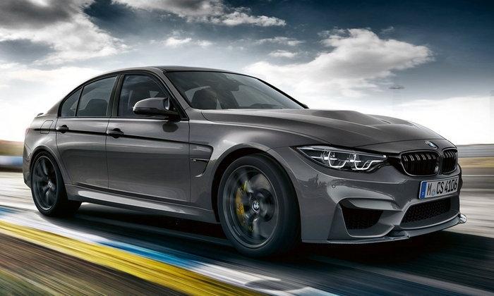 BMW M3 CS 2018 ใหม่ พร้อมขุมพลังเทอร์โบ 453 แรงม้าเผยโฉมแล้ว