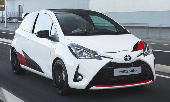 Toyota Yaris GRMN 2017 ใหม่ ขายจริงแล้วที่อังกฤษ ราคา 1.18 ล้านบาท