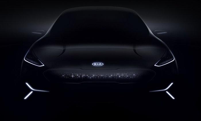 Kia Niro EV 2018 ใหม่ ครอสโอเวอร์ขุมพลังไฟฟ้าเตรียมเผยโฉมที่งาน CES 2018