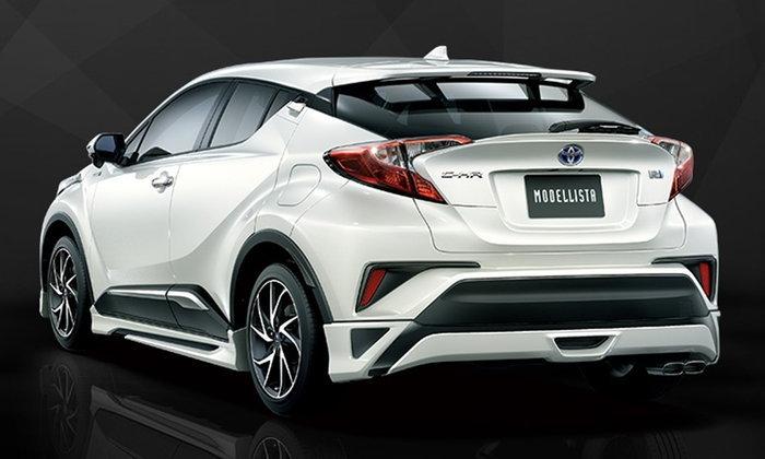 รวม 8 ชุดแต่ง Toyota C-HR 2018 ใหม่ ส่งตรงจากประเทศญี่ปุ่น
