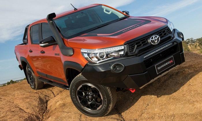 Toyota Hilux Rugged X 2018 ใหม่ เผยโฉมแล้วที่ออสเตรเลีย