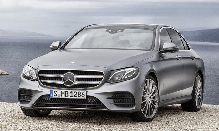 ราคารถใหม่ Mercedes-Benz ในตลาดรถประจำเดือนมกราคม 2561