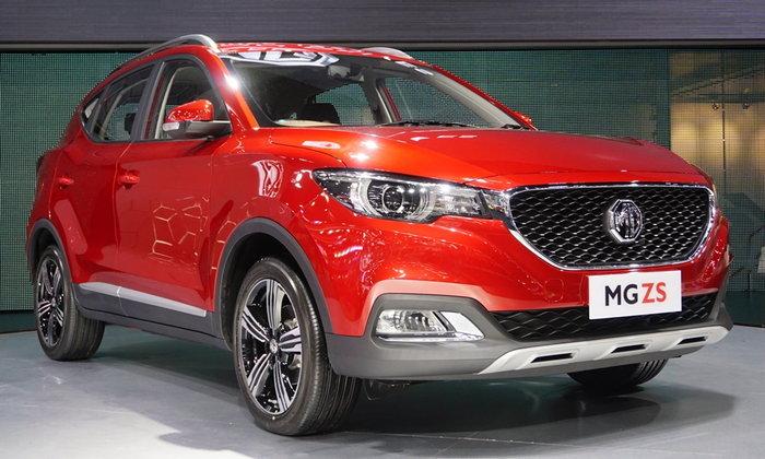 ราคารถใหม่ MG ในตลาดรถยนต์ประจำเดือนมกราคม 2561