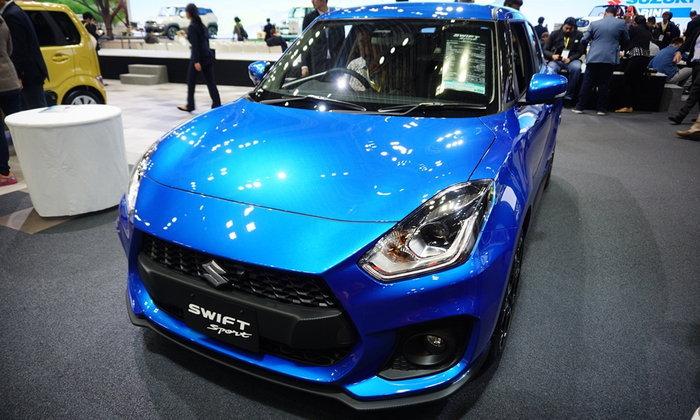 Suzuki Swift 2018 ใหม่ เคาะวันเปิดตัวในไทย 8 กุมภาพันธ์นี้
