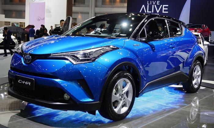 Toyota C-HR 2018 ใหม่ เปิดตัวครั้งแรกในไทยที่งานมอเตอร์เอ็กซ์โป