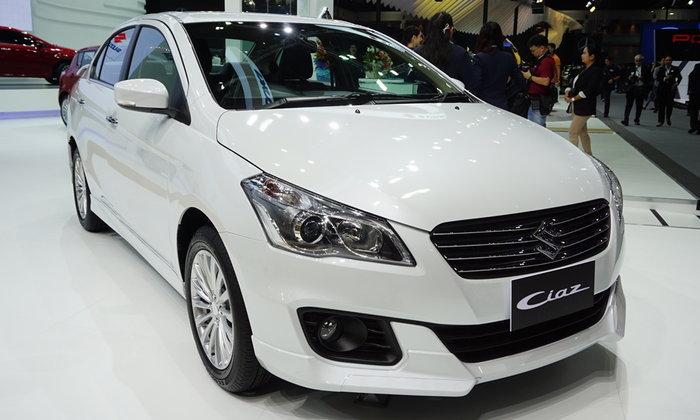 รถใหม่ Suzuki ในงาน Motor Expo 2017