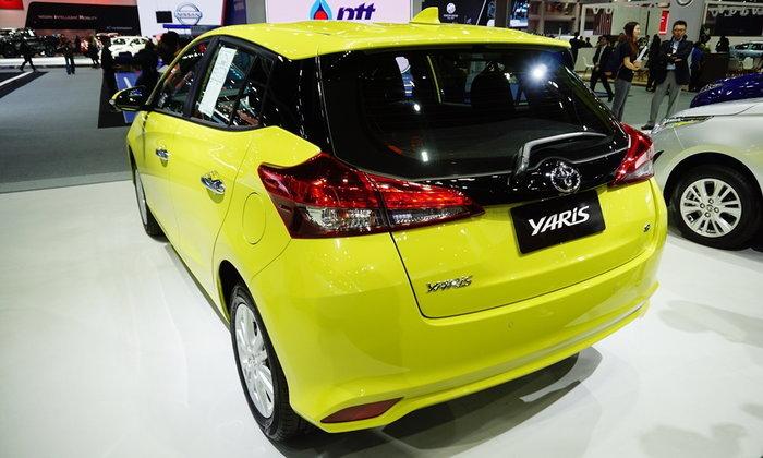 Toyota Yaris และ Yaris ATIV 2018 ใหม่ ถูกจัดแสดงที่งานมอเตอร์เอ็กซ์โป