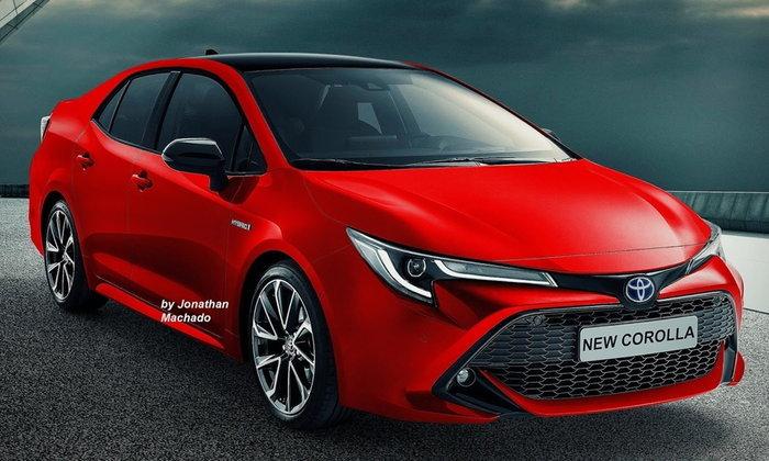 ภาพร่าง Toyota Altis 2019 เจเนอเรชั่นใหม่ล่าสุด งานนี้คู่แข่งมีหนาว!