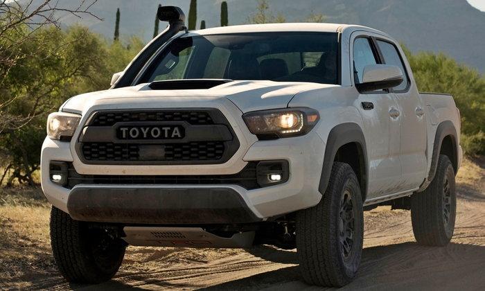 Toyota Tacoma TRD Pro 2018 กระบะออฟโรดรุ่นพิเศษเผยโฉมที่สหรัฐฯ